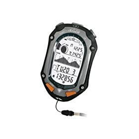 GSI Super Quality All-In-One Fishfinder Handheld Monitor - Measures Sun, Moon, Tide, Altitude, Barometer, Temperature And Humidity Levels - Alarm, Stopwatch And Calendar Functions - For Fishing And Sports