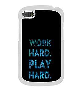 ifasho Designer Phone Back Case Cover Blackberry Q10 ( Hindu god Lord Krishna Color Craft Design )