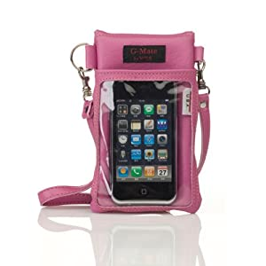 Rosy Mauve Cross Body Iphone Case Iphone Bag Iphone Purse Cell phone ...