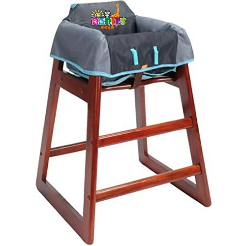 protective highchair cover for babies restaurant high chair cover germ protection for babies. Black Bedroom Furniture Sets. Home Design Ideas