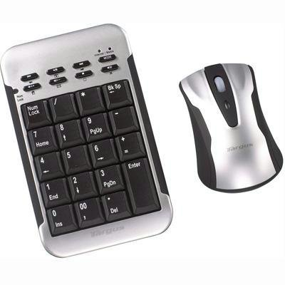 Targus AKM10US Wireless Keypad and Laser Mouse Set for Laptop Computers