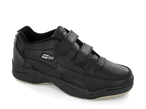 mens-black-coated-leather-touch-fastening-fuller-fitting-trainer-arizona-black-size-uk-mens-size-10