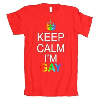 Keep Calm I'm Gay American Apparel T-Shirt