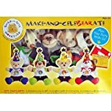 Build-A-Bear Workshop, Make and Celebrate Deluxe Birthday Kit, 4 Animals to Sew & Stuff