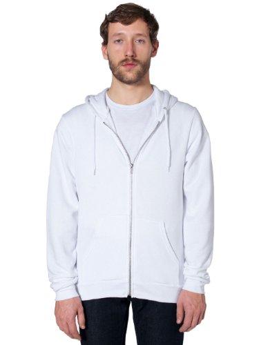 american-apparel-unisex-flex-fleece-zip-hoodie-white-m