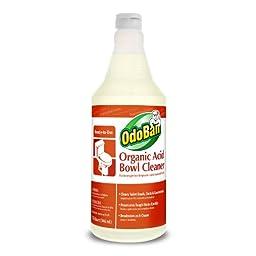 Earth Choice 935462-Q12 RTU Organic Acid Bowl Cleaner, 1 qt Bottle