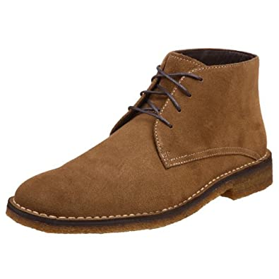 Johnston & Murphy Men's Runnell Chukka Boots, Brown, 7.5 M | Amazon