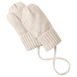Hanna Andersson Baby Baby Mouse Mittens, Size XS (24 Months), Oat Heather
