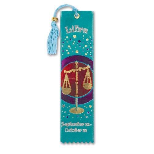 "Libra Bookmark Ribbon 2"" x 7"" Party Accessory - 1"