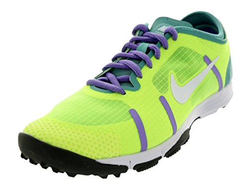 Women\u0026#39;s Nike LUNARELEMENT Cross Training Running Shoes. Size 10.5. VOLT/WHITE-DIFFUSED JADE-ATOMIC VIOLET
