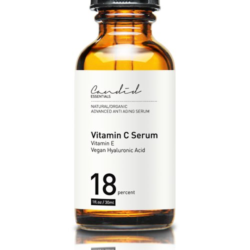 Organique vitamine C anti-âge Sérum anti-rides