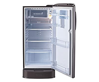 LG GL-D221ASLN.DSLZEBN Direct-cool Single-door Refrigerator (215 Ltrs, 5 Star Rating, Scarlet Lily)