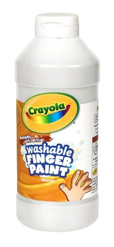 Binney & Smith Crayola(R) Washable Finger Paint, 16 Oz., White