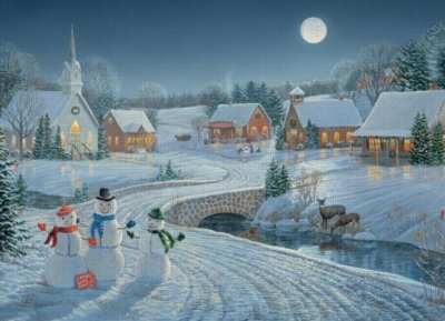 Cheap Cobble Hill One December Night Jigsaw Puzzle 1000 Piece by Cobble Hill (B004UMEQ8Q)