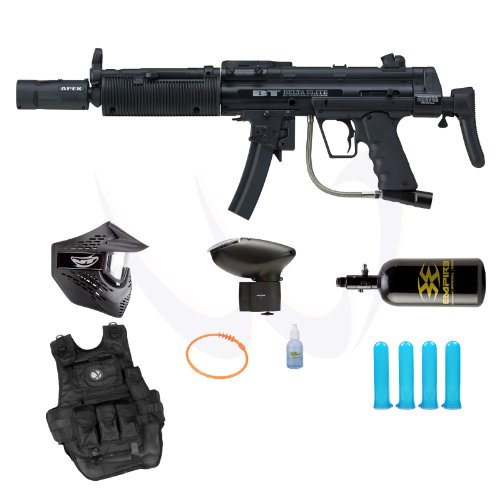Empire Bt Delta Elite Egrip Paintball Marker Gun Hpa N2 Prime Package