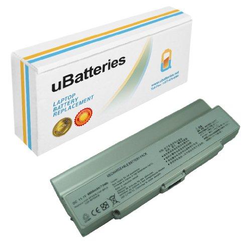 UBatteries Laptop Battery Sony VAIO VGN-CR520E/T VGN-CR520E/W VGN-CR525E/B VGN-CR540E VGN-