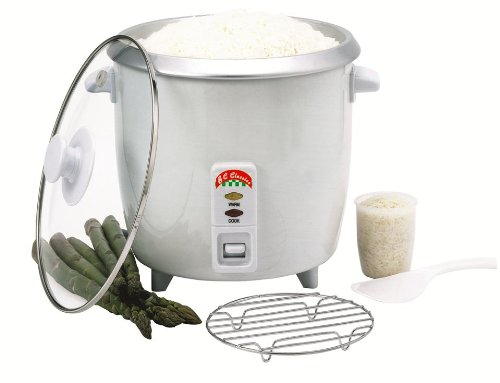 Benecasa Bc-12416 6-Cup (Uncooked) Rice Cooker With Glass Lid front-42355
