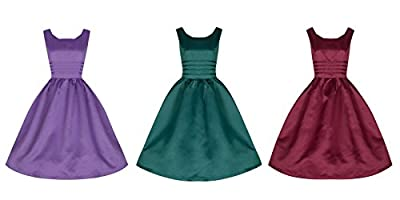 Lindy Bop 'Iris' Glamorous Vintage 50's Prom Party Dress
