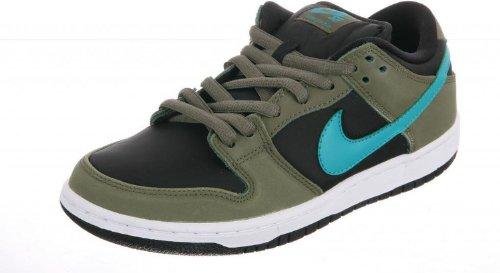 Nike Dunk Low Pro Sb Olive - Turbo Green - Black Mens 9.5