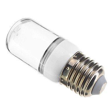 zhou you E27/E26 1W 6x5730SMD 70-90LM 2800-3200K Warm White Light LED Spot Bulb deal 2016