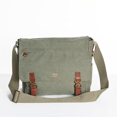 Troop London Canvas Messenger Shoulder Bag 37