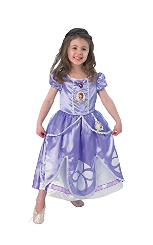 Disney - Disfraz de princesa para niña, talla M (5 - 6 años) (I-889548M)