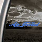 Air Cooled Blue Decal VW Motorcycle Hang Glider Car Blue Sticker