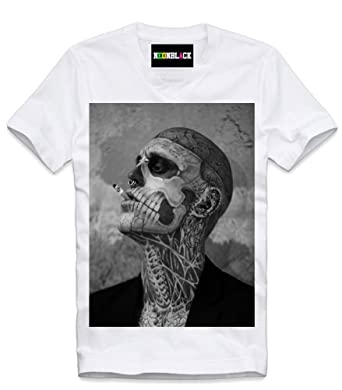 NEONBLACK HERREN V T-SHIRT WEISS DOPE WASTED YOUTH RICK BLUNT SUPREME HUF XL