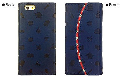 グルマンディーズ ドラえもん×HELLO KITTY iPhone6s/6対応 フリップケース シルエット SANDR-11A