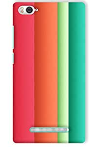 IndiaRangDe Hard Back Cover FOR Xiaomi Mi 4i