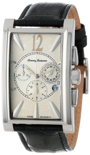 tommy-bahama-swiss-homme-tb1250-havana-tall-silver-dial-tank-strap-montre