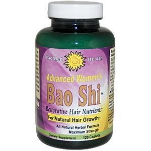 Biomed Health - Advanced Women'S Bao Shi Restorative Hair Nutrients - 120 Caplets