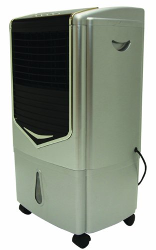 KuulAire PACKA43 Portable Evaporative Cooling Unit 350 CFM, Silver