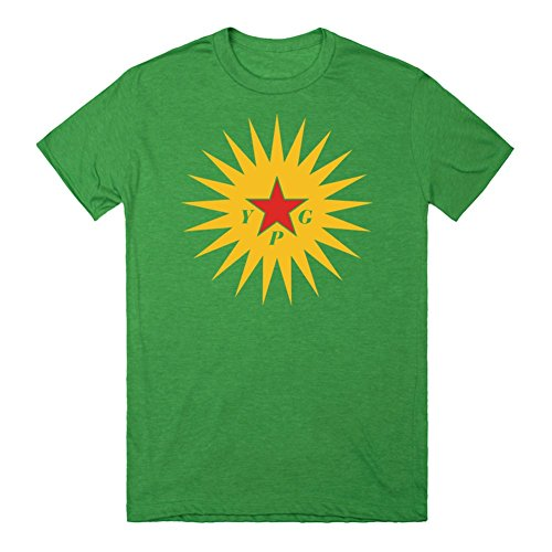 ypg-sun-shirt-xl-heathered-kelly-green-t-shirt