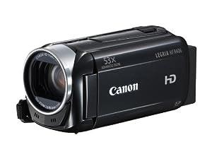 Canon Legria HF R406 Full-HD Camcorder (3,2 Megapixel, 32-fach opt. Zoom, 7,5 cm (3 Zoll) Touchscreen, bildstabilisiert, USB) schwarz