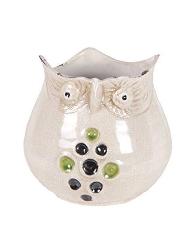 Privilege International Small Ceramic Owl Vase