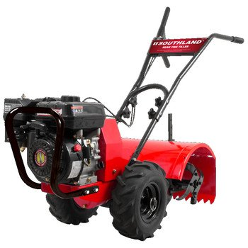 Cheap Southland  SRTT196E   Rear Tine Tiller with 196cc, 4 Cycle, 9.6 foot-pound, OHV Engine