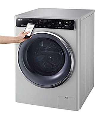 LG FH4U1JBHK6N Fully Automatic Front Loading 10.5 Kg Washing Machine (Luxury Silver)