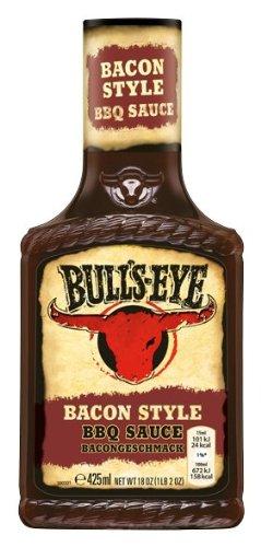 Bull's-Eye BBQ Grillsauce Smoky Bacon, Dosierflasche, 4er Pack  (4 x  500 g)
