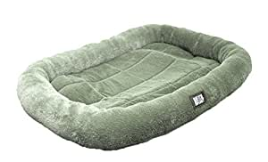 "Animal Planet Bolster Pet Bed, 22"" x 15""  inch, Sage"