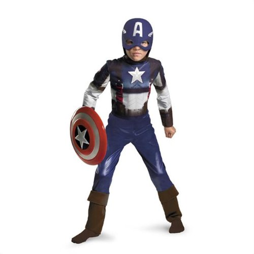 Captain America Costume - Medium