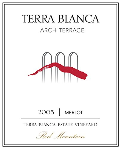 2005 Terra Blanca Arch Terrace Red Mountain Merlot 750 Ml