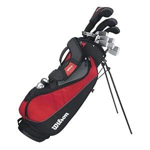 WILSON Herren Golfset Profile VF, Graphit, RH (Rechte Hand), Regular (R), 1, WGG157241