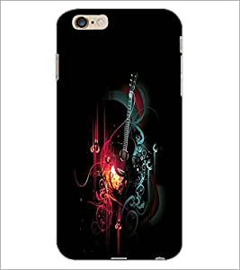 PrintDhaba Music D-2412 Back Case Cover for APPLE IPHONE 6S (Multi-Coloured)