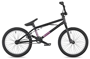 "DK Intervol 2011 BMX Bike, 18"" Black with white rims"