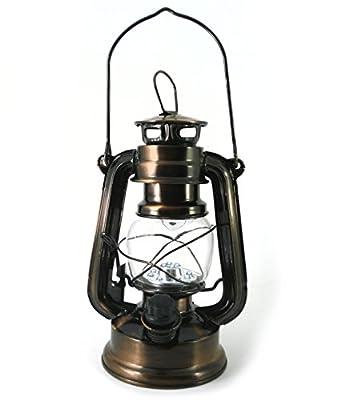 PK Green 12 LED Hurricane Lamp Lantern Light Camping Hiking