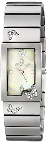 Burgmeister Perpignon Women's Quartz Watch with Mother of Pearl Dial Analogue Display and Silver  Bracelet BM527-481