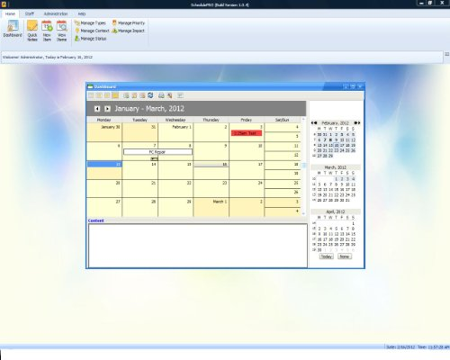 SchedulePro Project Management and Scheduling Software; Calendar Software, Windows PCs , 1 User License