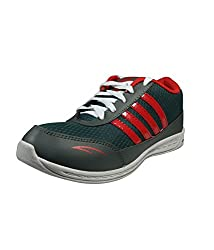 Camps Sports Mens Grey/Red Outdoor Sport Shoes 6 UK