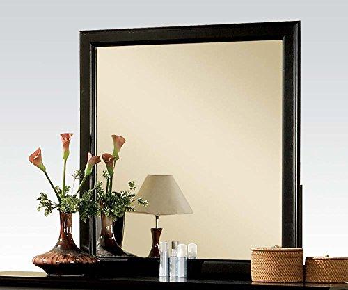 Acme 19504 Louis Philippe Iii Mirror, Black front-988234